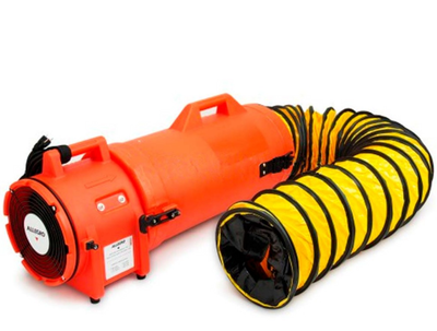 "Allegro 8"" AC Plastic Blower with Compact Canister. 1 Each."