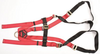 MSA FULL BODY HARNESS, UNIVERSAL, 400 LB, RED. 1 EACH.
