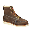 "Thorogood Wedges » 6"" Brown Moc Toe. 1 PAIR."